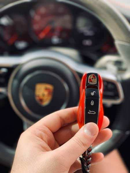 PP-Performance Porsche 911 Turbo Key