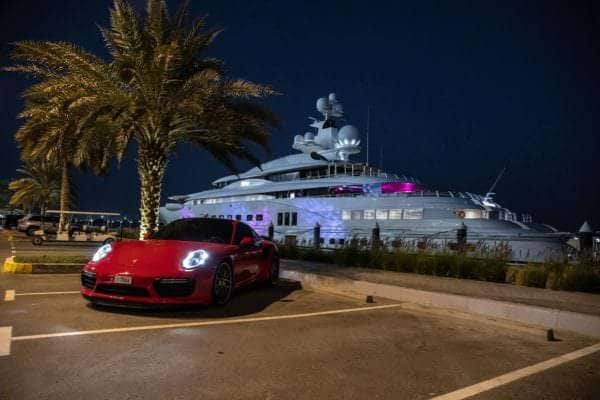 PP-Performance Porsche 911 Turbo on Yas Island