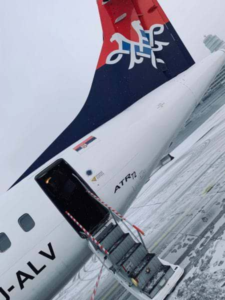 Vienna International Airport - Air Serbia
