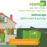 RoomIt - Mobiler Self Storage und Lagerraum